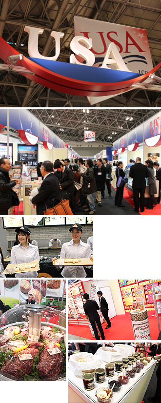 IMG:FOODEX JAPAN 2012 アメリカ・パビリオン食べ歩きリポート/アメリカパビリオン
