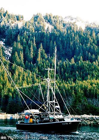 IMG:美しきアラスカの夏/天然食材へのこだわり
