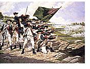 戦うアメリカ兵イメージ