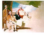 イギリスの描かれていないパリ条約の絵