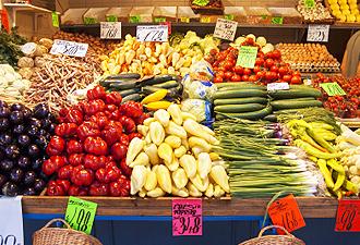 生産者と消費者を繋げるアメリカ食文化/ファーマーズマーケット(イメージ)