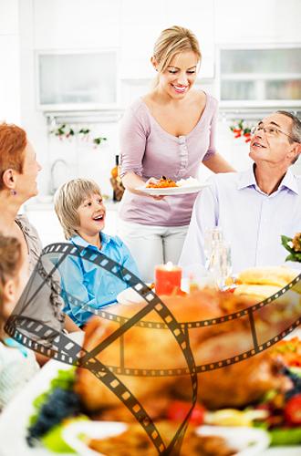 IMG:「映画」でひもとく、サンクスギビングデーという文化/家族と料理(イメージ)