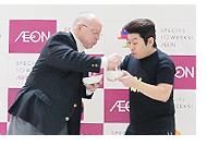 チャックさんと山本さんのステージ