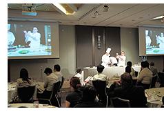 「アメリカンヘルシークッキングセミナー All-Day Breakfast 」ヒルトン大阪にて開催風景