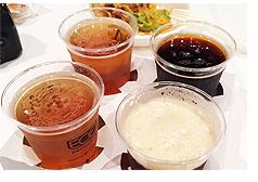 myfood編集部のクラフトビール飲み比べ