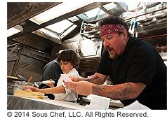 映画『シェフ 三ツ星フードトラック始めました』の映画シーン((c)2014 Sous Chef, LLC. All Rights Reserved.)