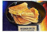 Wisconsin Grilled Cheese Sandwich