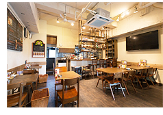 BROOKLYN DINER駒沢本店(ブルックリン・ダイナー)店内