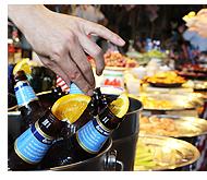 アメリカンフードやクラフトビール