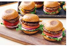 Classic mini burger