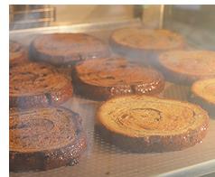 「Busco Food Inc.」の「Cinnamon Swirl Bread(シナモン・スワール・ブレッド)」