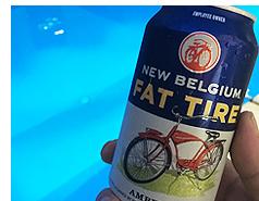 コロラド州の地ビール「FAT TIRE」