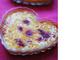 ピスタチオとラズベリーのクリームブリュレ