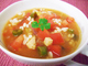 食物繊維豊富な、大麦スープ