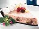 カリフォルニア・レーズンのクランベリーチーズケーキ