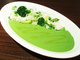 夏野菜のサラダライスwith緑野菜カレー