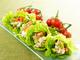アラスカ紅鮭サラダご飯