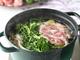 ポークとオリーブオイルのヘルシー鍋