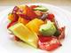 ベーコン・トマト・アボカド サラダ オリーブオイルを使って