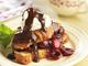 クロワッサンフレンチトースト&チェリーソース