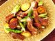 アメリカン・ポーク バックリブとジャガイモ、アスパラガスのオーブン焼き